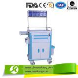 Matériel Emergency de chariot à hôpital d'ABS (CE/FDA/ISO)