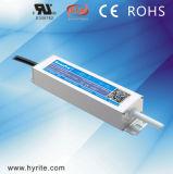 セリウム及びSAA Saso TUV Bisが付いているHyrite IP67 30W 24V/12 LEDの電源の防水超細いタイプLEDドライバー