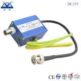 protector de oleada de relámpago de la cámara del CCTV de 12V 24V 220V Video+Power