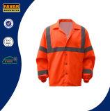 Hi куртка отражательной безопасности визави 100%Polyester водоустойчивая с Breathable подкладкой