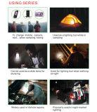 Портативная солнечная осветительная установка для Hiking & располагаться лагерем & поездки