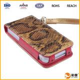 Caja del cuero del diseño de la carpeta para el iPhone 6g/6s/6s más