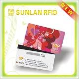 Kundenspezifische kontaktlose magnetische Chipkarte Größe PVC-RFID