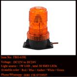 Mini faro de la carretilla elevadora LED en el color ambarino, voltaje 110-120AC
