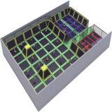 Trampoline спортивной площадки детей занятности Cheer Vasia крытый мягкий
