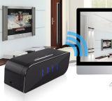 Appareil-photo portatif d'horloge de Tableau de WiFi de détecteur de mouvement de réseau sans fil de la vision nocturne 1080P