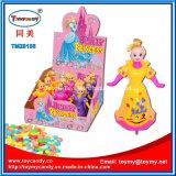 熱い販売のプラスチック人形は甘いキャンデーが付いているおもちゃをからかう