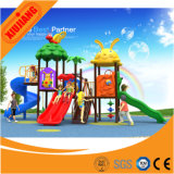 Xj2016 New Auslegung Outdoor Playground Plastic Slide mit Swing für Children