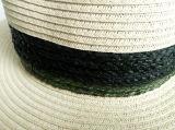 sombreros del safari del estilo del ocio de la paja 10%Polyester de 60%Paper 30%Raffia