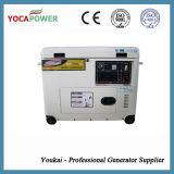Генератор стандарта излучения 5.5kVA EPA звукоизоляционный тепловозный