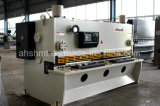 QC11y-6*3200mm hydraulische Guillotine-scherende Maschine/hydraulische Platten-scherende Maschine/sahen scherende Maschine mit justierbarem Schneidewinkel