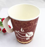 9oz Cheap Single Wall Paper Cup mit Handle Made in China