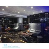 高い背部現代ホテルのロビーのソファーはセットした(HW-3326S)