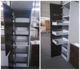 デザイン引出しが付いているヨーロッパ式PVC膜の食器棚を放しなさい