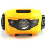 3xaaa電池LED Ipx7は印刷されるロゴのヘッドライトを防水する(4000)