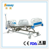 Кровать регулируемых электрических функций больничной койки 4 медицинская