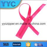 Yyc 형식 다채로운 니켈 자유로운 O/E 나일론 지퍼 제조