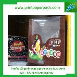 Il favore ecologico su ordinazione del cartone dell'imballaggio di alimento inscatola il contenitore di carta di cioccolato con la finestra del PVC