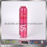 Пустая бутылка алюминия аэрозоля