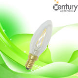 Dimmable 4W E14 E12 C35 360 Degree LED Filament Light Lamp Indoor Lighting LED Filament Bulb