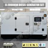 insieme di generazione diesel Genset del generatore insonorizzato domestico silenzioso di potere 25kVA