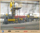 Poste de travail automatique de poutre en double T de T/I/pour l'Assemblée, la soudure et redresser la chaîne de production en acier de Sructure ligne en acier de fabrication de Struction