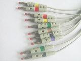 Schnell-EKG/ECG Kabel Plastik14pin Iec-