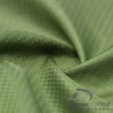Agua y de la ropa de deportes tela tejida chaqueta al aire libre Viento-Resistente 100% del filamento del poliester del telar jacquar de la tela escocesa abajo (53172)