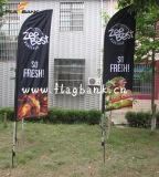 Флаги & знамена пера торговой выставки алюминиевые изготовленный на заказ напольные