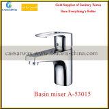 De bronze escolhir o misturador sanitário da água da bacia do banheiro do cromo dos mercadorias do punho