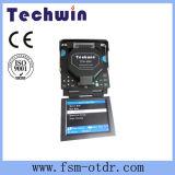 Encoladora de la fibra de Techwin similar a la encoladora de la óptica de fibras de Sumitomo
