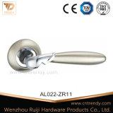 Gefäß-Aluminiumgriff-hölzerner Tür-Innengriff