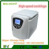 Type matériel de Tableau de laboratoire à grande vitesse de Clincal de centrifugeuse