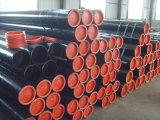 Tubulação de aço sem emenda redonda preta de carbono em Shandong, China