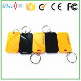 黄色および黒のための125kHz ABS受動RFID Keyfob Tk4100チップ混合されたカラー