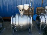 150lb/300lb/600lb/900lb Wcb A216 Floating API Ball Valve