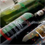 Tinta pigmentada de cristal multicolora automática del esmalte de la impresora de la pantalla de la botella de Liqour del vino