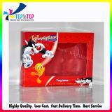 Caixa de cartão de papel de empacotamento cosmética da qualidade superior com indicador desobstruído