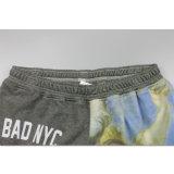 Shorts alla moda di golf di sublimazione di ginnastica dei vestiti del panno morbido all'ingrosso del Mens