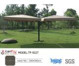 Qualitäts-großes Polyester-wasserdichter Rom-Aluminium-Regenschirm