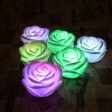 Rose Flower Color Changing LED Candle mit Waterproof Function