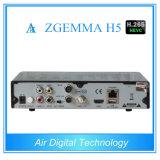 Комбинированный T2 DVB c Zgemma H5 DVB S2 DVB коробки приемника H. 265 TV