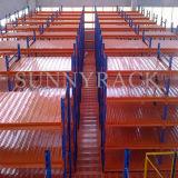 Lager-Lagerung justierter Stahlmezzanin-Fußboden