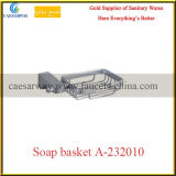 Корзина мыла санитарной латунной арматуры ванной комнаты изделий латунная