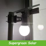 12V réverbère solaire de jardin de C.C DEL tout dans un