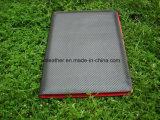 고품질 Padfolio 가죽에 의하여 개인화되는 빨간 서류철