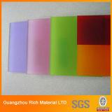 A cor moldou a folha plástica do plexiglás da folha acrílica PMMA