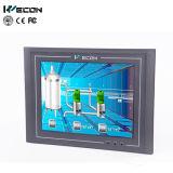 Ecrã táctil industrial Wecon de 10,4 polegadas com controle remoto para máquina têxtil