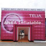 Aufblasbares Ausstellung-Zelt alles drucken Firmenzeichen für Messe