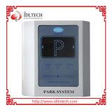 주차에 있는 RFID 꼬리표 독자 또는 카드 판독기